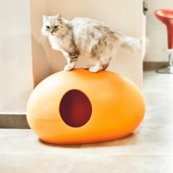Дизайнерский туалет для кошек Poopoopeedo (Пупупиду) в форме яйца